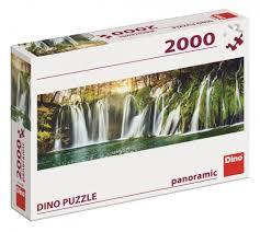 Dino Legpuzzel Plitvice Watervallen 2000 Stukjes