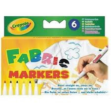 Crayola Textielstiften