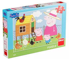Dino Puzzel Peppa Pig 24 stukjes