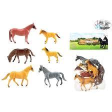 Horses- 6 paarde in zak.