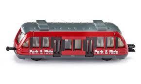 Siku trein park en ride rood.