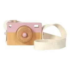 Little Dutch Houten Camera roze . ld4435