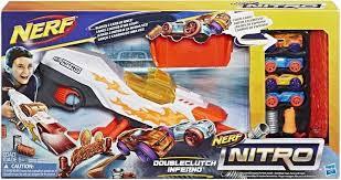 Nerf Nitro doubleclutch inferno pistool.