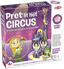 Pret in het circus spel, ga mee op avontuur in het circus