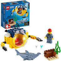 LEGO City Oceaan Mini-Duikboot