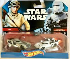 Starwars auto's first order flametrooper 2 stuks.