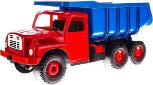 Tatra stevige zand auto rood-blauw