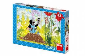 Dino Puzzel Kleine Mol 24 Stuks