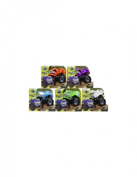 Monster truck 4 x 4 SUV in diverse kleuren.