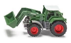 Siku Fendt tractor met frontlader.