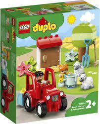 Lego duplo boerderij tractor met dieren verzorging . 10950