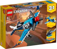Lego creator vliegtuig 3 in 1.set.