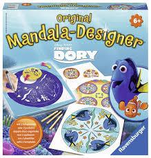 Ravensburger mandala designer Finding Dory van disney.