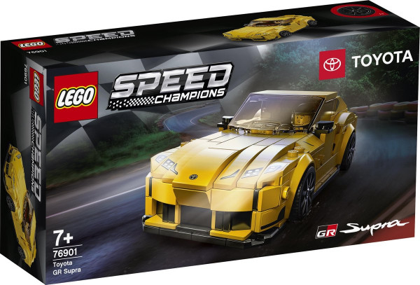 Lego speed champions toyota gr supra. 76901