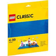 Lego grondplaat blauw