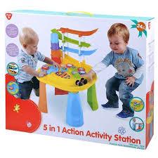 Playgo 5 in 1 speeltafel. action activity station.