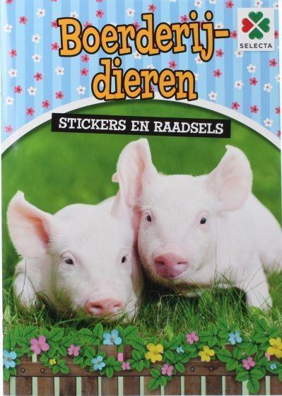 Boerderijdieren Stickers en Raadsels