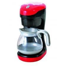Playgo koffie zet apparaat oranje kleur.