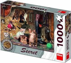 Puzzel met Geheimen: Kittens 1000 Stukjes