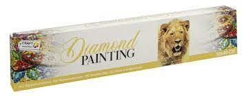 Diamond Painting Lion 30x40 cm