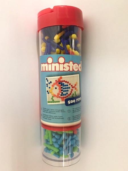 Ministeck losse pins voor mosaik bord 500 stuks.