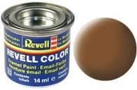 Revell verf voor modelbouw dark earth donkerbruin mat nummer 82
