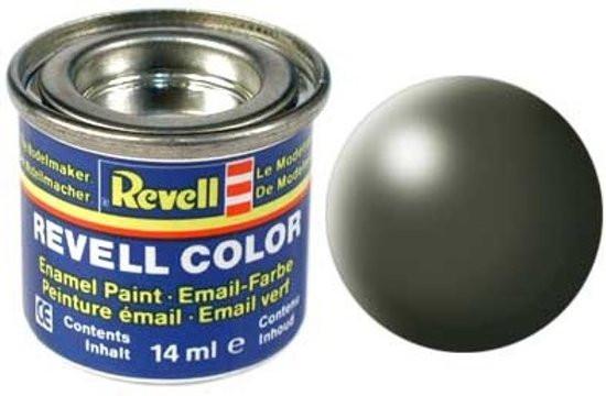 Revell verf voor modelbouw Olijf groen zijdemat nummer 361