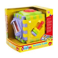 Playgo activiteiten kubus met veel speelmogelijkheden.