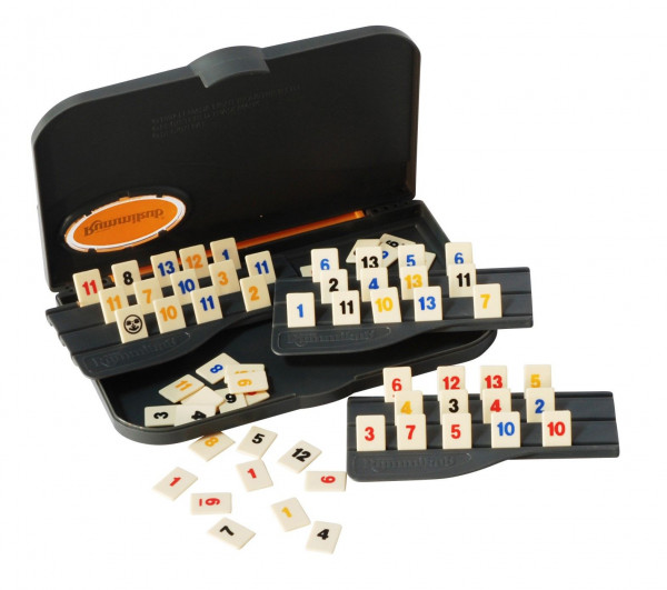 travel rummikub en travel triominos