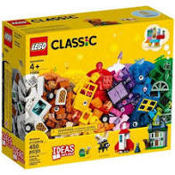 Lego classic ramen en deuren en stenen. 11004