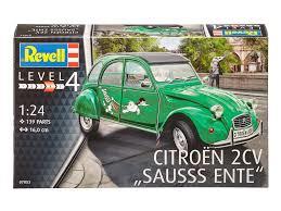 Revell bouwmodel Citroën 2 cv Sauss ente.1;24