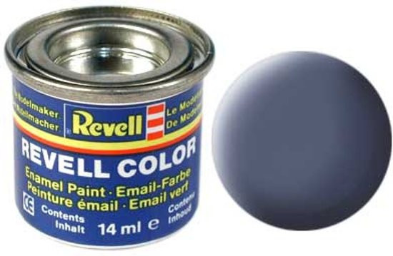 Revell verf voor modelbouw grijs mat nummer 57