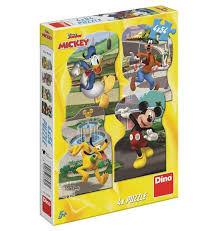 Dino Puzzel Disney Junior Mickey