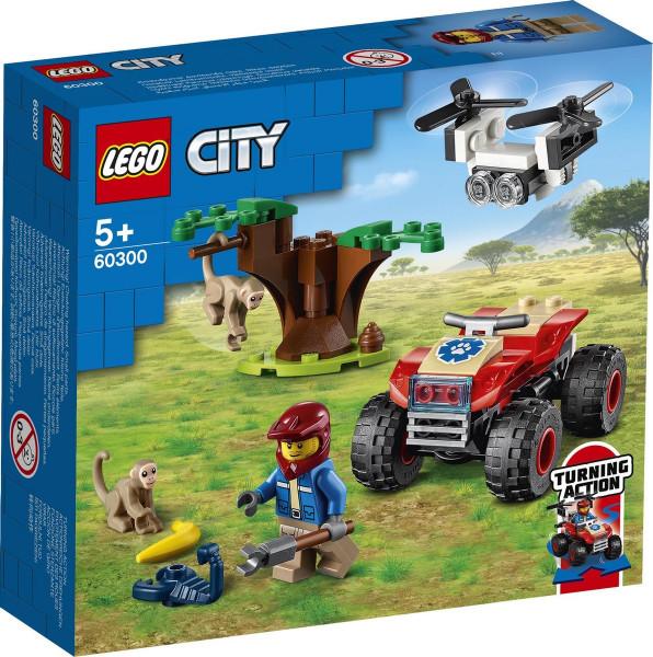 Lego LEGO City Wildlife Rescue ATV quad - 60300