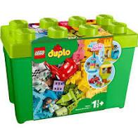 Lego duplo deluxe bouw koffer groen.
