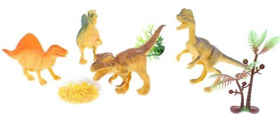 World of dinosaurs 7 delige dino set.