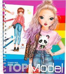 TOPModel Kleurboek Modeontwerpen