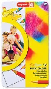 Bruynzeel Basic Kleurpotloden Blik 12.
