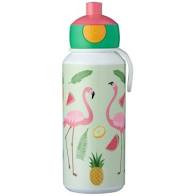 Mepal Tropical Flamingo Pop up Drinkfles 400ml