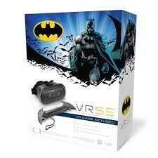 Goliath Batman VR game met bril.