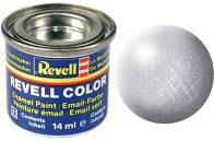 Revell verf voor modelbouw zilver metallic nummer 90
