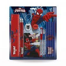 Spiderman schrijfset van Lannoo