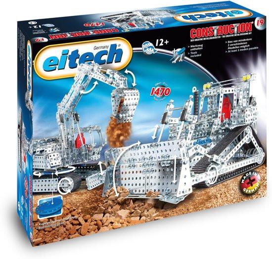 Eitech-construction bouwdoos buldozer of kraan.