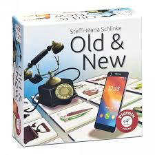 Old en new memory spel ,zie hoe de tijd alles veranderd