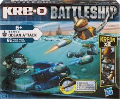 Kre-o battle ship ocean attack constructie systeem.