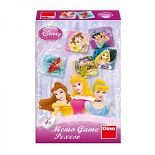 Dino Disney Princess memo spel met 48 kaartjes.
