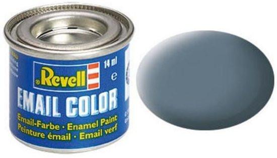 Revell verf voor modelbouw blauw grijs mat nummer 79