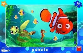Dino Frame Puzzle - Nemo - 15 Stukjes
