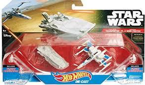 Hot Wheels Star Wars Transporter vs X-Wing Fighter