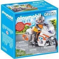 PLAYMOBIL City Life Spoedarts op Motor